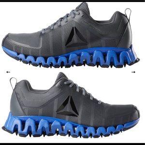 Reebok ZigWild TR 5.0 Running Shoes Grey/COBALT